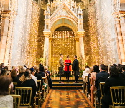 Martin and Charles' fun and magnificent wedding at Mansfield Traquair