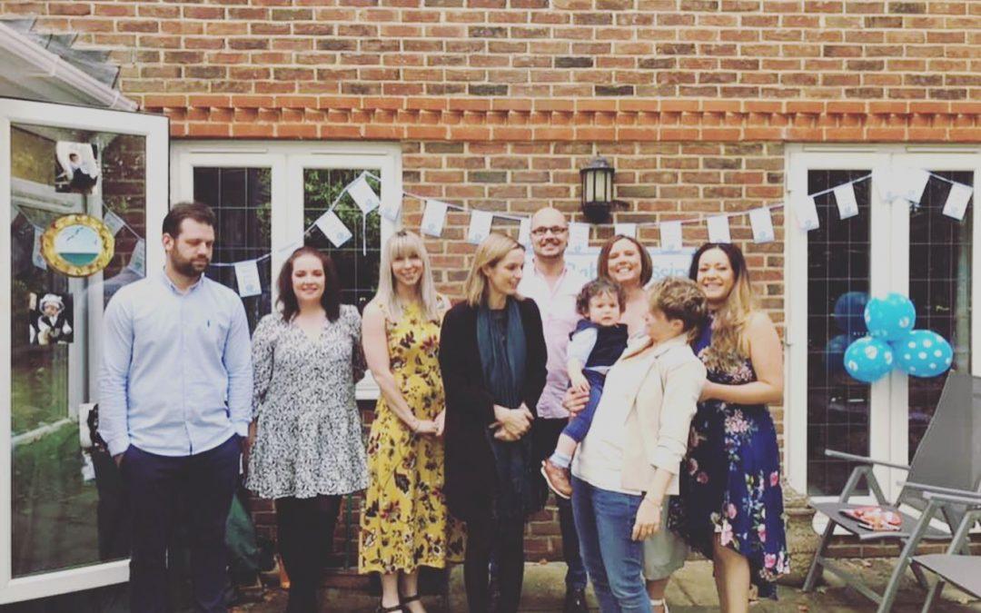 Mason's naming ceremony in Berkshire